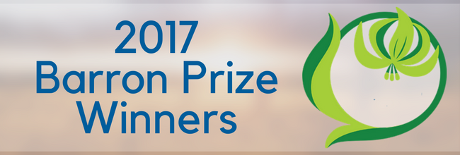 Outstanding Young Leaders — Introducing The 2017 Barron Prize Winners